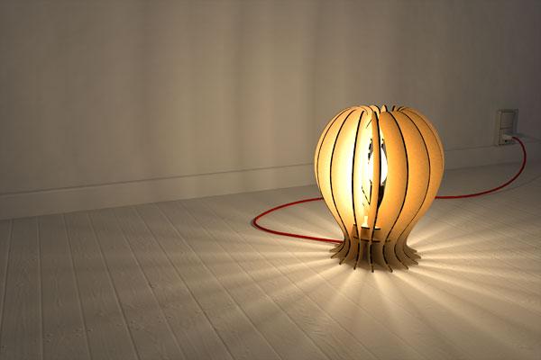 Lampe-3d-render