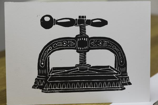 Book press print
